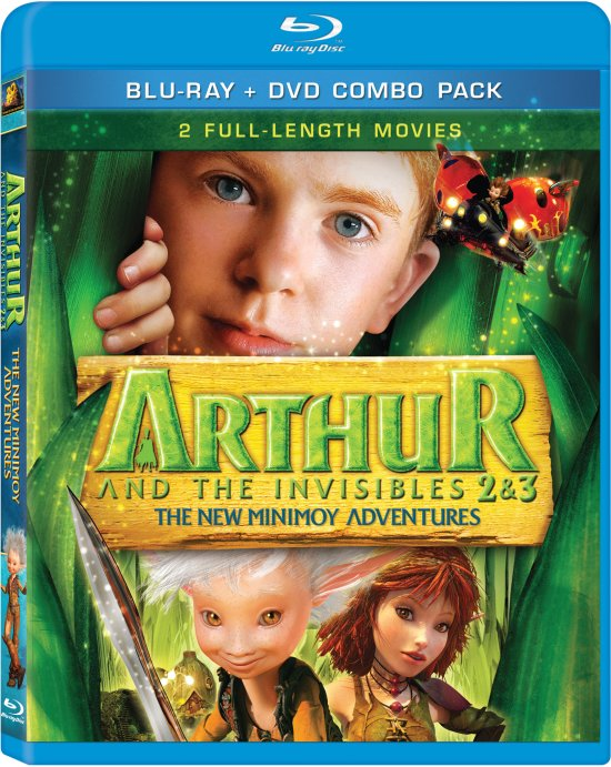 ARTHUR AND THE INVISIBLES 2 & 3 DVD and Blu-ray Release Date