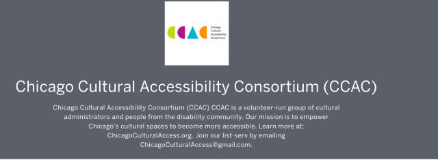 Chicago Cultural Accessibility Consortium