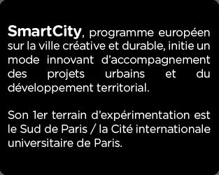 SmartCity à la Cité internationale universitaire de Paris – Smart City CIUP