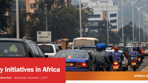 a sinngle view of an african urban street with cars and people_Screenshot-2017-11-7 Smart city initiatives in Africa