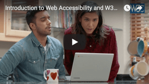 W3C releases video introducing Web Accessibility and W3C Standards