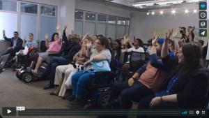 @ImTiffanyYu Talks Inequality and Disability |  #InequalityIs @Diversability