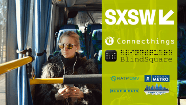 CONNECTHINGS LAUNCHES PILOT PROGRAM BRINGING CAPITAL METRO BUS INFORMATION TO PEOPLE WHO ARE BLIND OR VISUALLY IMPAIRED IN AUSTIN