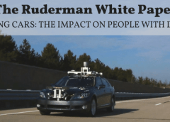Self-Driving Cars: The Impact on People with Disabilities