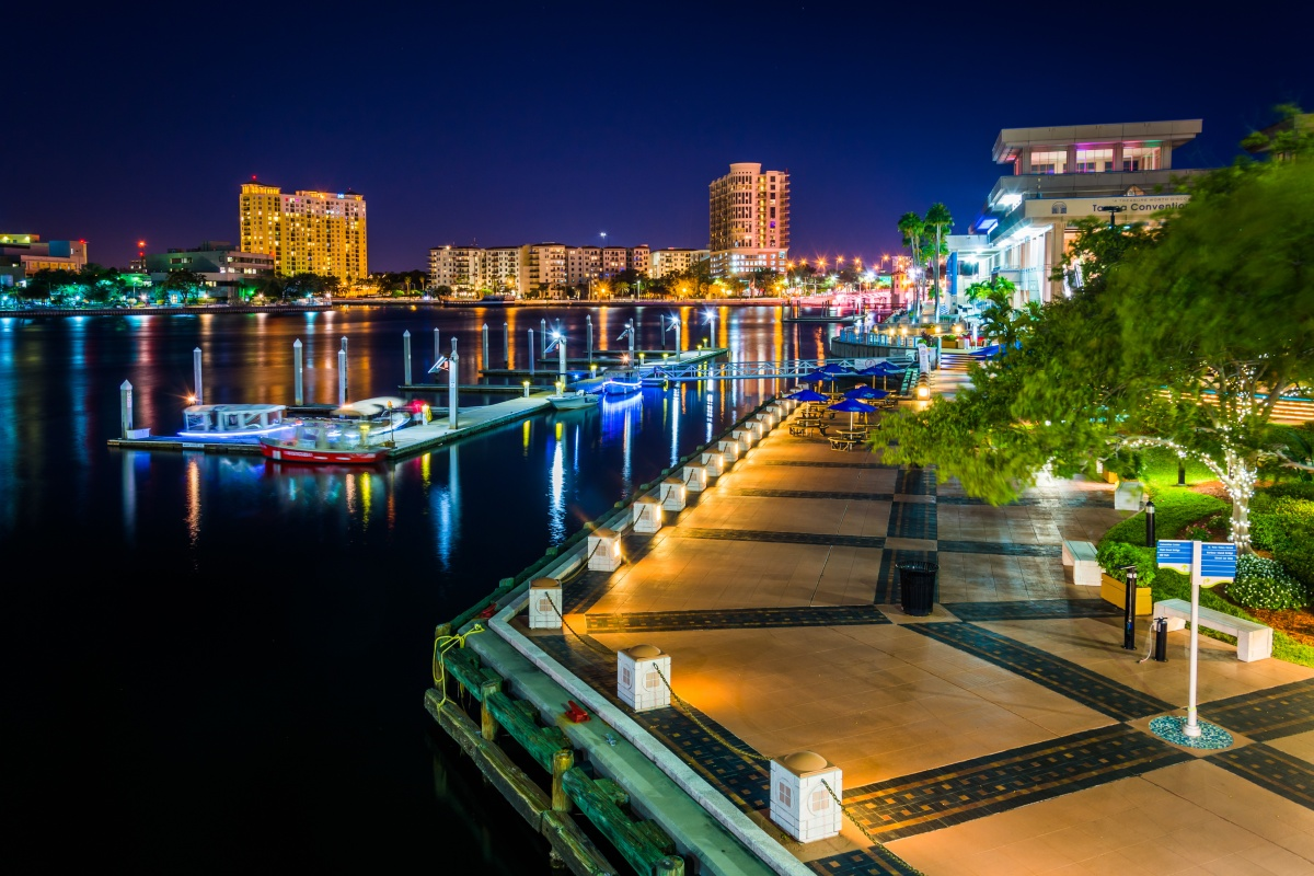 Tampa Electric Street Light Out