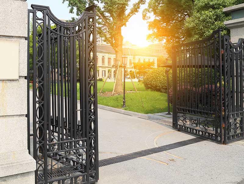 bi-folding security gate installation ohio