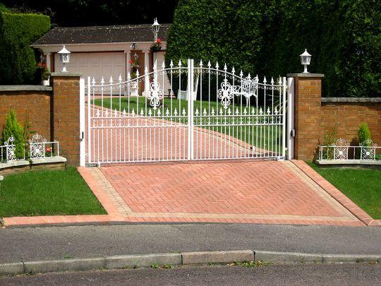 Canton driveway gate installation company ohio