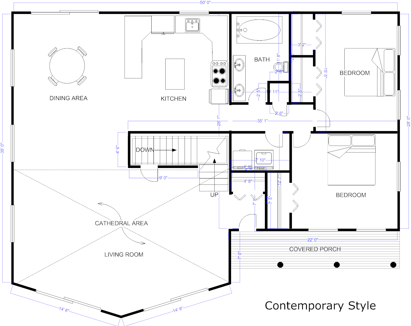 Create Free Blueprints House Online