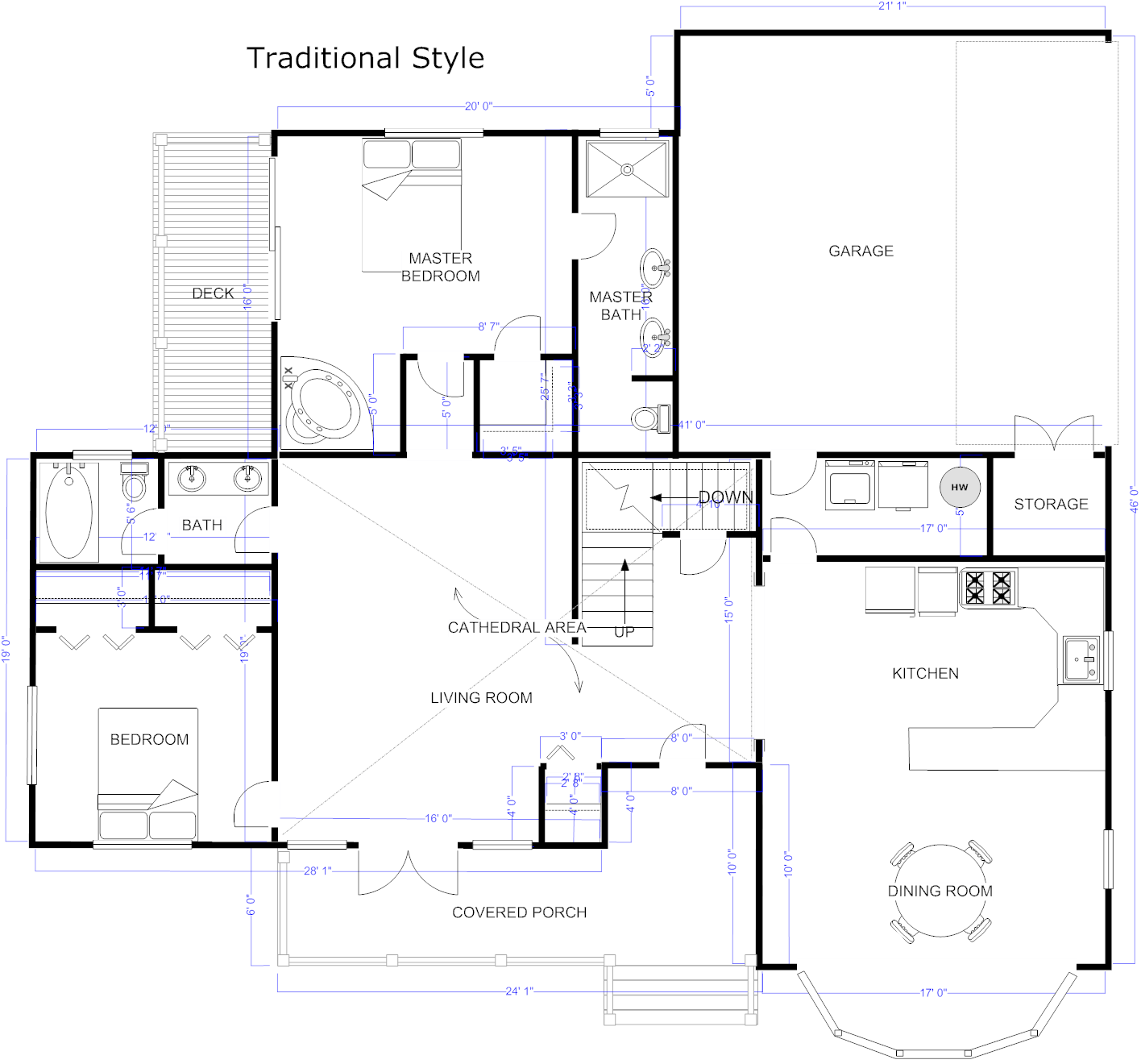 Best Kitchen Gallery: Floor Plan Maker Draw Floor Plans With Floor Plan Templates of Home Architecture Plans on rachelxblog.com