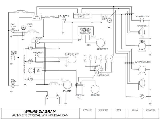 House Wiring Circuit Diagrams - Wiring Diagram