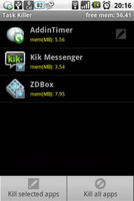 ZDbox V1.2(ignore list in Task Killer)