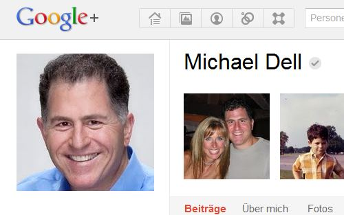 michael dell verifizierung google plus