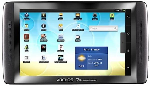 Archos-70-internet-tablet-home-screen