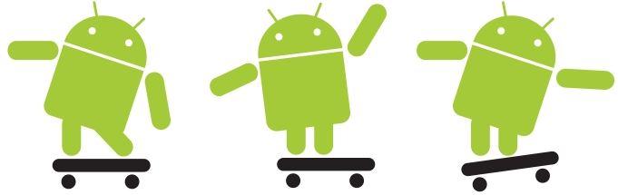 android logo skateboard