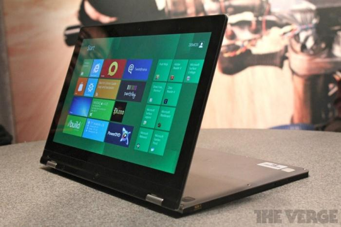 Lenovo IdeaPad Yoga CES 2012 (2)