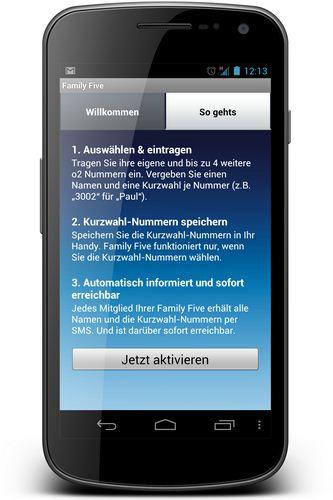 o2 app familiy five