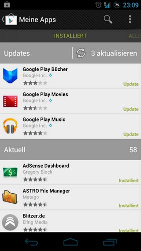google play-updates