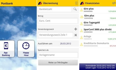 postbank android