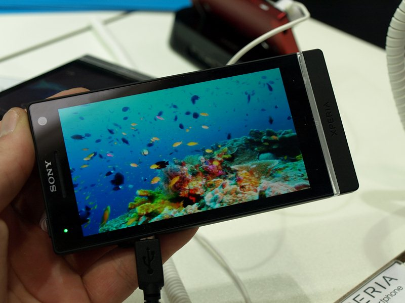 Sony Xperia S (CeBIT 2012)