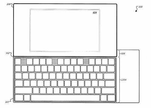 google keyboad patent