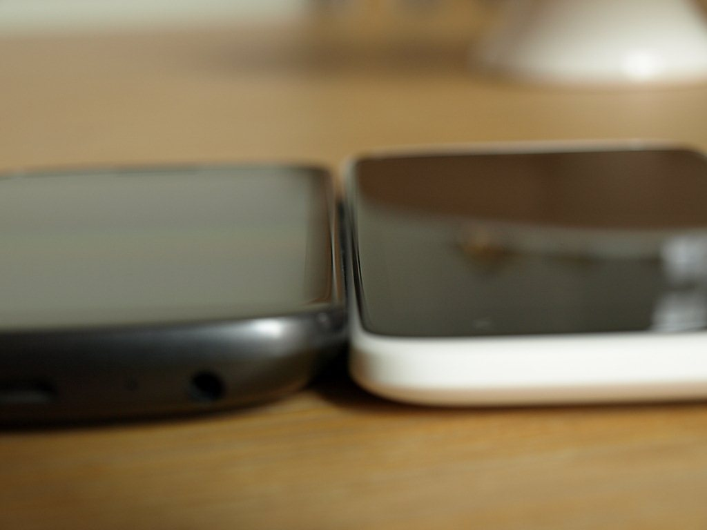 HTC One X vs Samsung Galaxy Nexus - Optik und Haptik