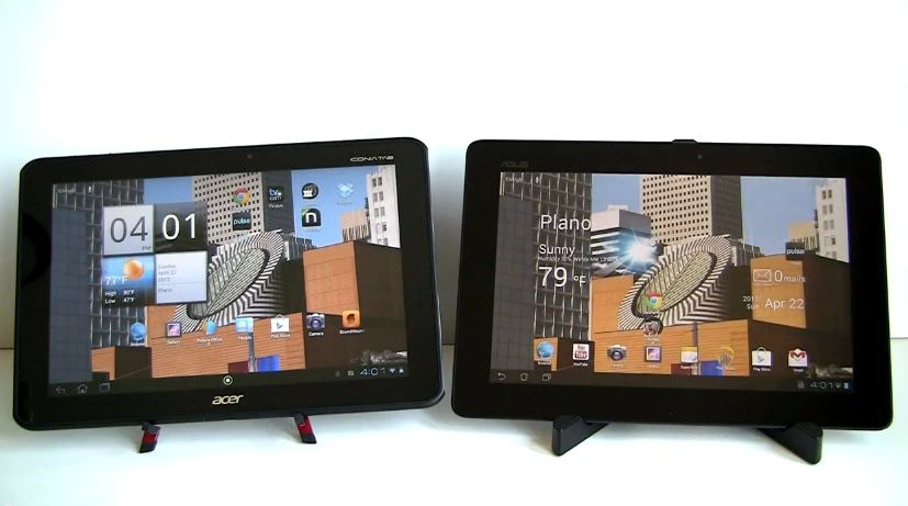 transformer pad prime vs iconia tab a510