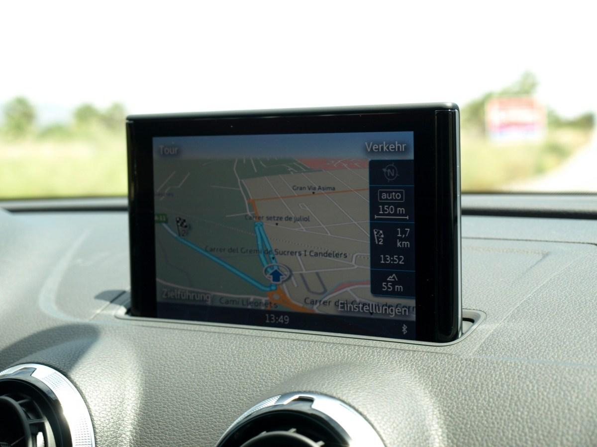Audi A3 Navigation-Display