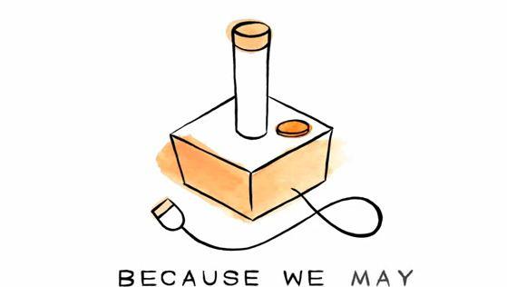 because we may