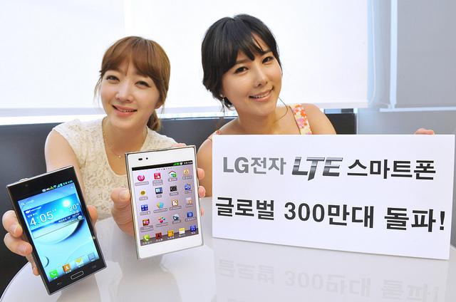 LG 3 Millionen LTE Smartphones