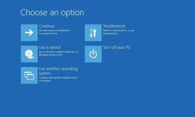 Windows 8 Bootmenu