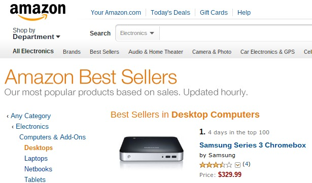 bestseller chromebox usa amazon