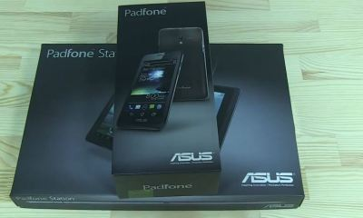 padfone unboxing nbn