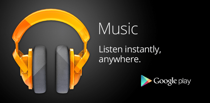 Google Play Music Header