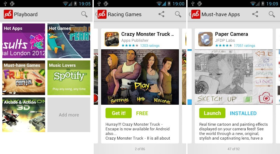 Playboard Android