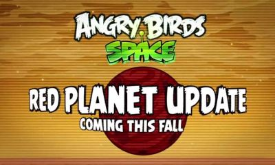 Angry Birds Space Red Planet Teaser