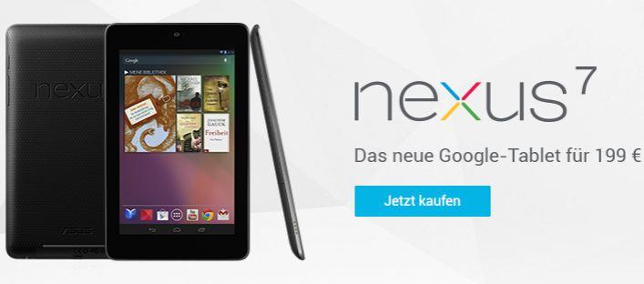 nexus 7 kaufne