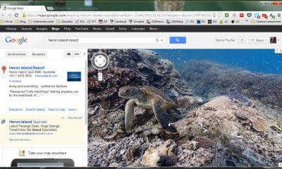 google maps sea view
