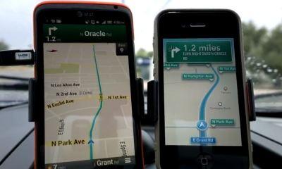 ios 6 maps vs google maps