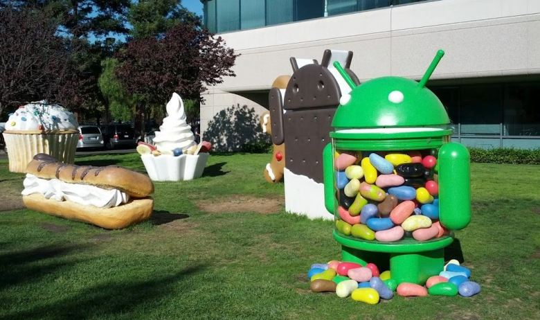 jelly bean statue campus