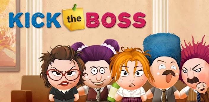 kick the boss