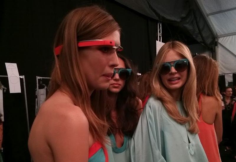 nyfw google glasses