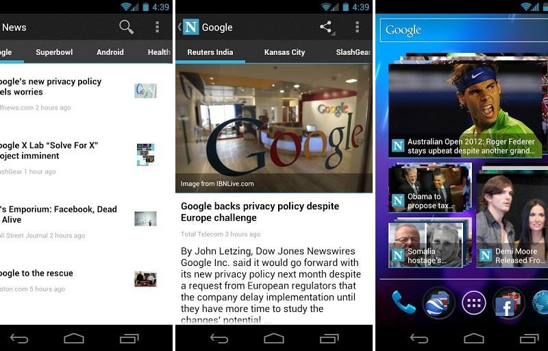 News Screenshot