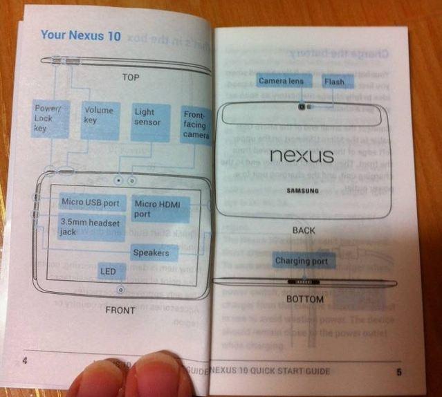 nexus 10 handbuch