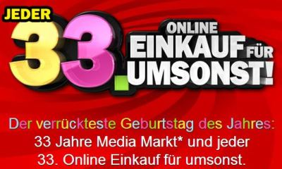 33 Jahre Media Markt