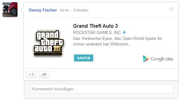 Google Play Install Button Screenshot