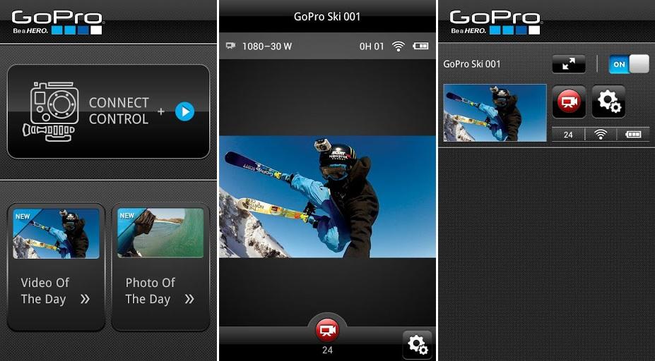 GoPro Android App Screenshots