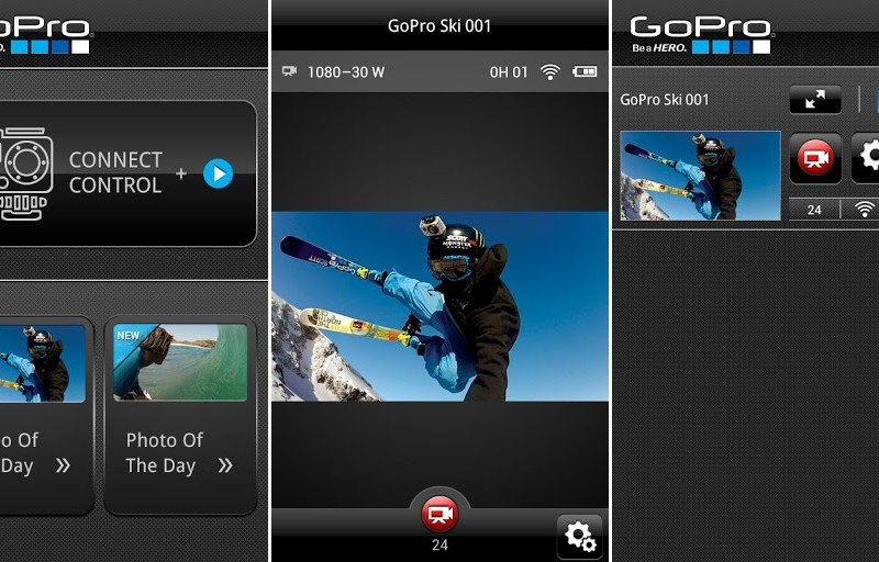 GoPro Android App Screenshots