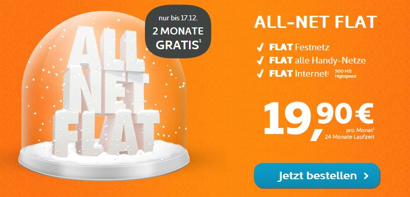 simyo all net flat zwei monate gratis