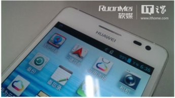 HUAWEI ASCEND D2 FRONT