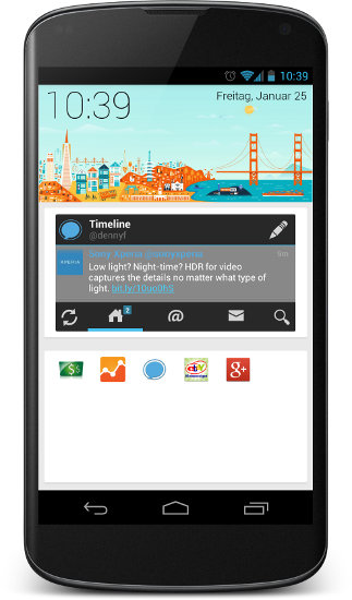 SF Launcher Screenshot